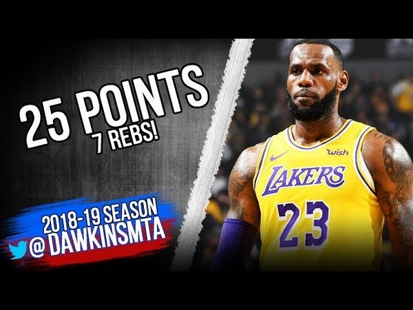 LeBron James Full Highlights 2018.11.10 Lakers vs Kings - 25 Pts, 7 Rebs!   FreeDawkins
