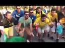 Hinchas de Brasil cantan Messi tchau tchau tchau en Rusia 2018 Versión de Bella Ciao
