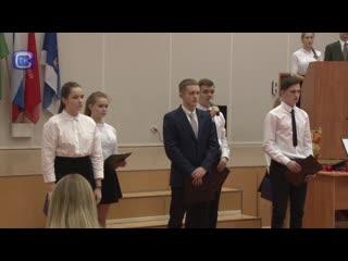 Школа №7, мероприятие памяти Марка Евтюхина