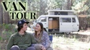 Young Couple Live Full-Time In Custom Campervan | The Cabin Camper