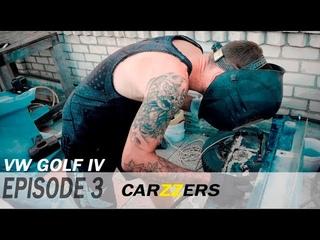 ИЗ КОЛХОЗА В ТОПЧИК. Volkswagen GOLF IV. ШЕЙВИНГ ПОДКАПОТКИ. Серия-3