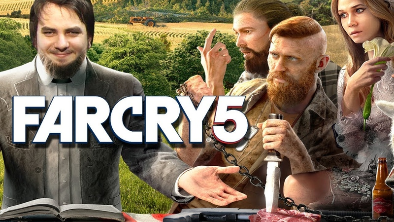 Мэддисон играет в Far Cry 5 - БЛТЬ ДЕД ТВОЙ ГРЕШНИК