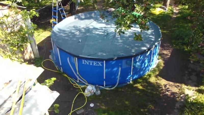 Солнечный нагрев бассейна своими руками(Homemade Pool Heater)