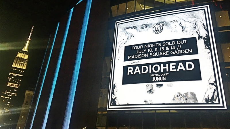 RADIOHEAD - Full Performance [4K] Night 1 Live @ Madison Square Garden NYC