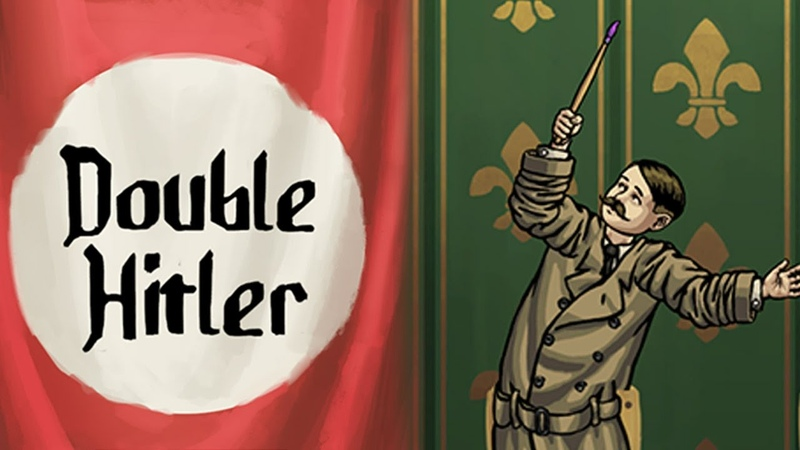 HITLER QWOP - Double Hitler Gameplay