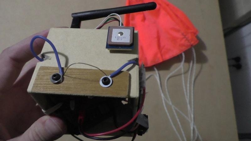 Arduino mini radiosonde part 7 v2 hotwire cutdown