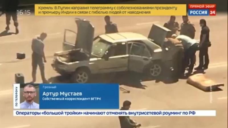 Нападение на полицию в Грозном Чечня в банде были несовершеннолетние 20.08.18