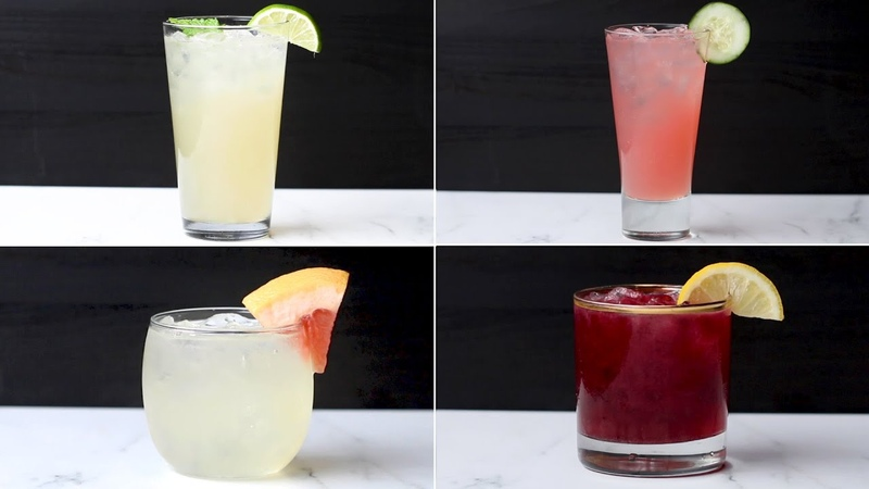 DIY Simple Syrups To Make 4 Delicious Spring Cocktails Tasty