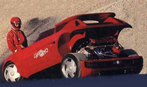 Спидстер Sbarro Chrono, который разгонялся до 100 км/ч за 3,5 секунды Концептуальный Sbarro Chrono создан с одной целью: добиться разгона до 100 км/ч за 3,5 секунды. Сейчас эти цифры уже не
