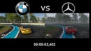THE CREW 2 STREET CARS BMW vs Mercedes Test .....