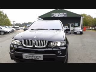 2004 BMW X5 4 8iS For Sale at George Kingsley Vehicle Sales, Colchester, Essex.