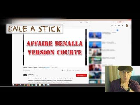 Affaire Benalla Macron Version courte - point de vue de lAile à Stick
