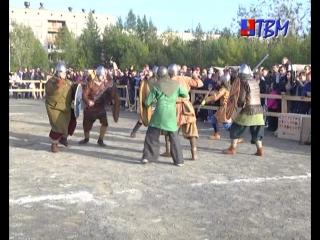 В субботу в Мончегорске состоялся фестиваль нордической культуры и исторической реконструкции «Imandra Viking Fest».