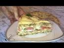 ЗАКУСОЧНЫЙ ТОРТ С МЯСОМ И ГРИБАМИ Торт из Вафельных Коржей Праздничный Рецепт Горячая Закуска