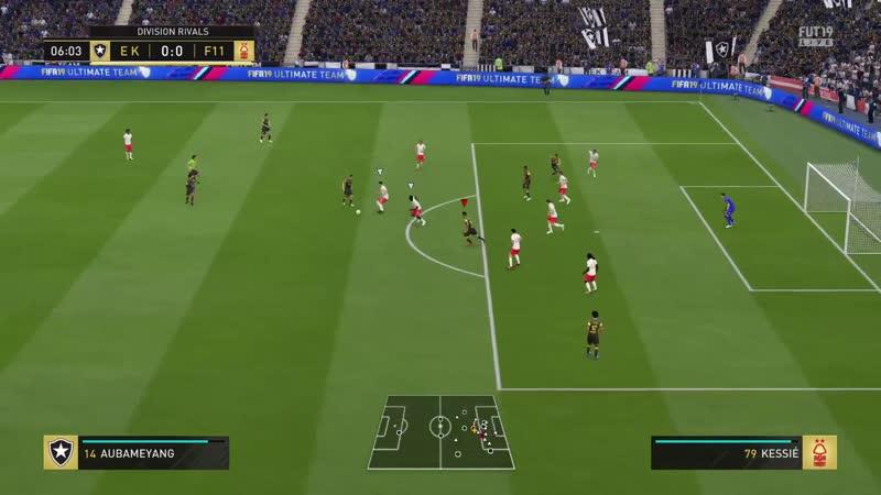 FIFA 19 - Division Rivals (Мой первый матч на 0:0 в этой части)