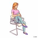 Качаем пресс, не вставая со стула: 6 упражнений для плоского живота