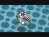 Кольцо с сапфирами, арт. Т146018834