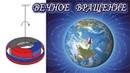 ВЕЧНЫЙ МАГНИТНЫЙ ДВИГАТЕЛЬ работает от магнитного поля Земли