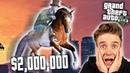 $2 MILLION FLYING HORSE GTA 5 FUNNY MOMENTS