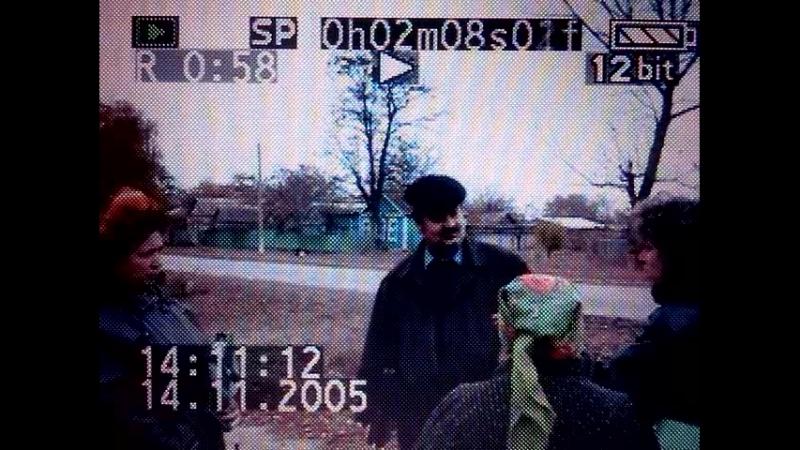 начальник зем.комитета Малахов С.А,и землеустроитель администрации Маныча,Порцикова В.И