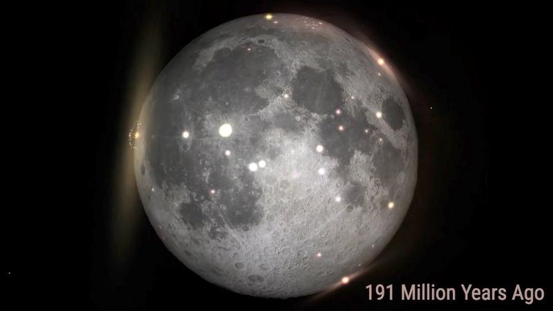 A Billion Years of Moon Impacts Illuminates Earth's History