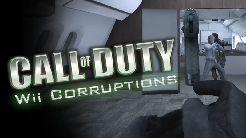 Call Of Duty Wii Corruptions