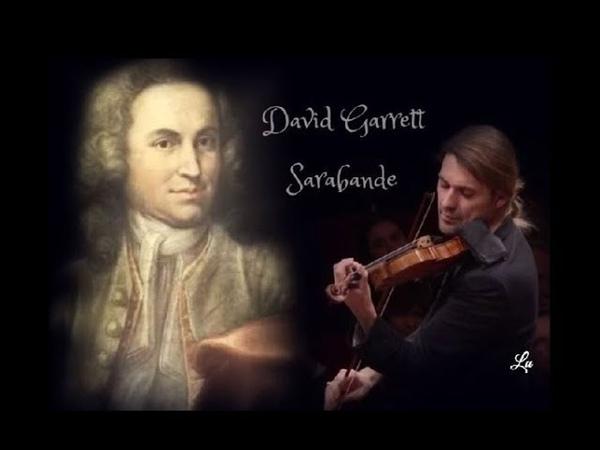 David Garrett e Orchestra Sinfonica della Rai Sarabande - Johann Sebastian Bach