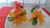 украшение тортов видео уроки D151 FLOWERS GELATIN FLORI DIN GELATINA