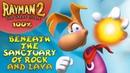 Rayman 2: The Great Escape - Все лумы и клетки - Под святилищем скал и лавы