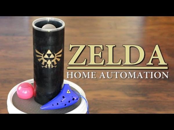 Zelda Ocarina Controlled Home Automation - Zelda: Ocarina of Time | Sufficiently Advanced