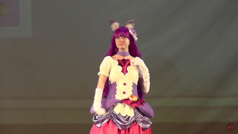 KiraKira Precure A La Mode - Kotozume YukariCure Macaron (Одиночное косплей дефиле) - S.O.S 2018