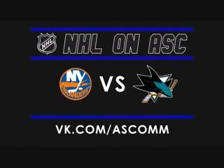NHL   Islanders VS Sharks
