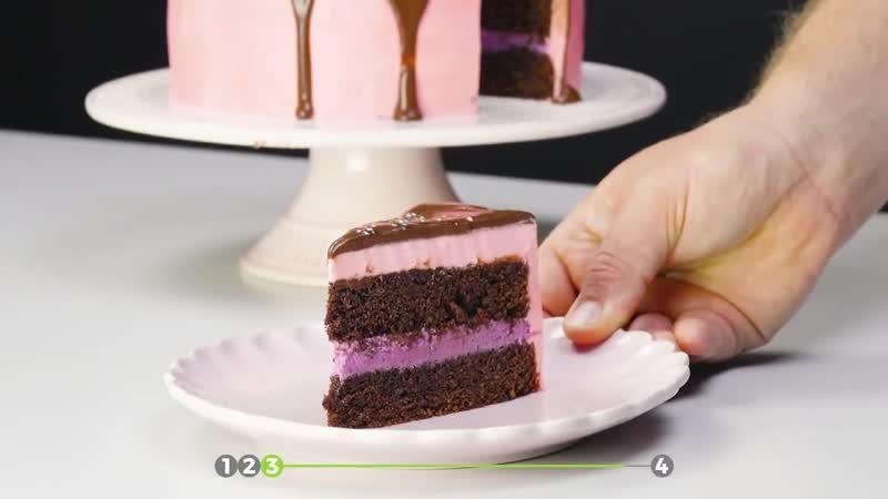 Перевернем торт вверх тормашками. Такой десерт даже в магазине не найдешь!
