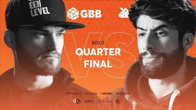 B-ART vs MB14   Grand Beatbox Battle 2019   1/4 Final