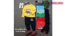 Xưởng may đồ bộ dài tay vải thun cho bé trai Hàng thu đông nhận may số lượng