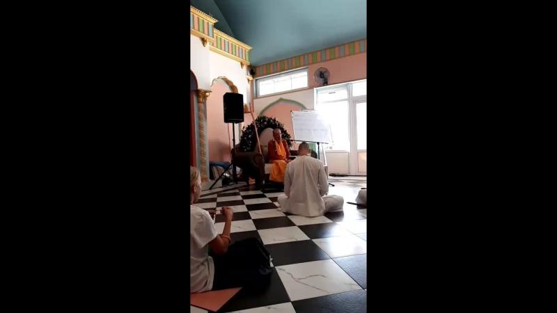 Радхаштами ШБ 10.22.5 БР Амбариши Махарадж