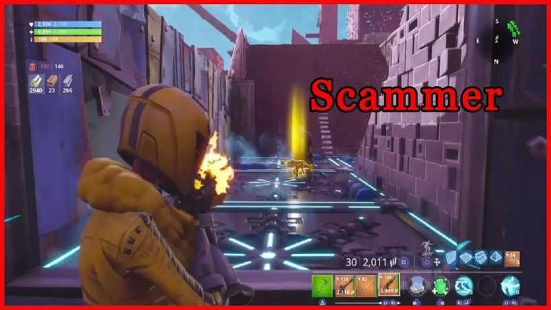 Fortnite Save The World Scammer Get Scammed The FLOOR Kills You! FORTNITE