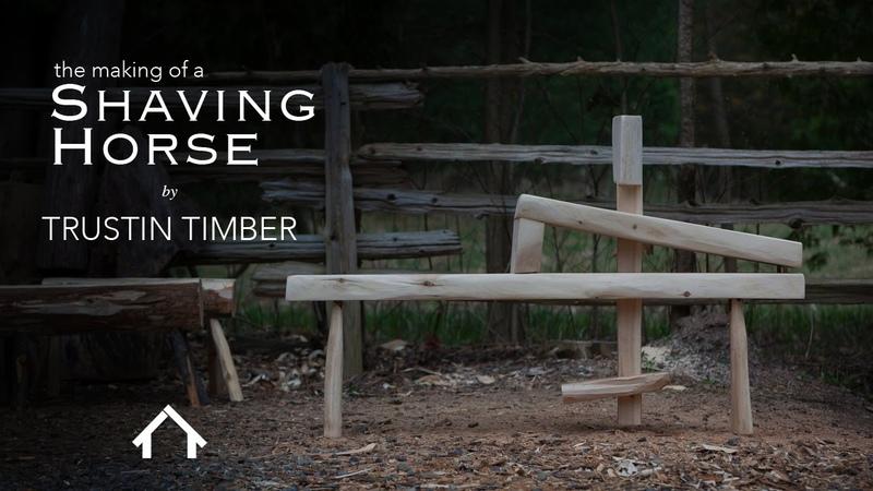 The Roy Underhill - DIY Shaving Horse build.