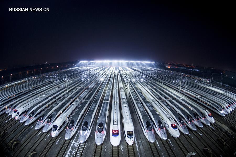 Испытательная скорость «суперскоростных» поездов Китая может достичь 1500 км/ч