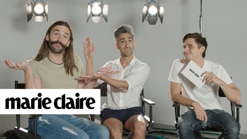 The Cast of Queer Eye Play How Well Do You Know Your Co-Star Marie Claire
