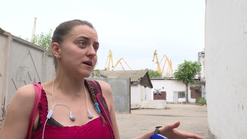 Ольга Назаревская про цементный терминал в Феодосии