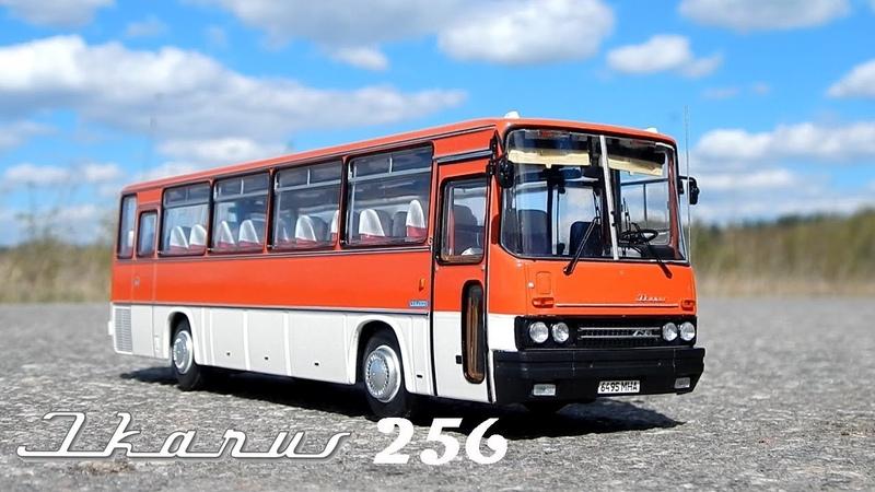 Икарус-256.54 ClassicBus | Обзор масштабной модели 1:43