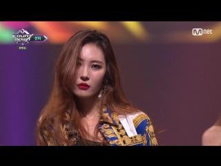 180712 Mnet KCON 2018 x M Countdown in TAIPEI SUNMI - INTRO + Heroine + Gashina