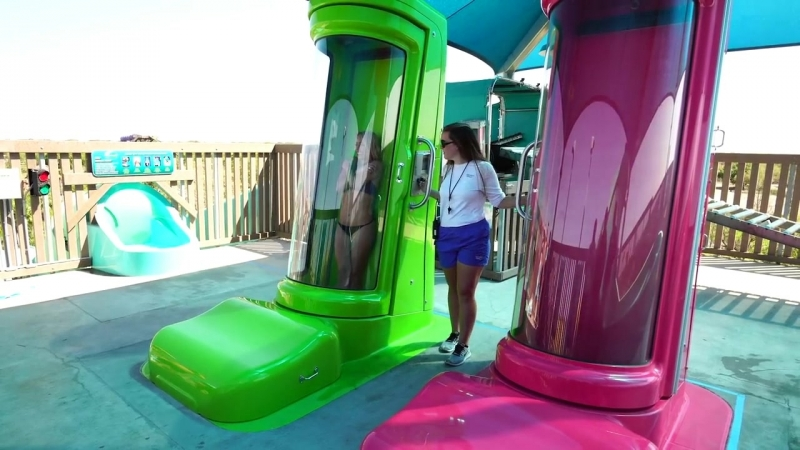 Водная горка Vanish Point в аквапарке Adventure Island закрыта?