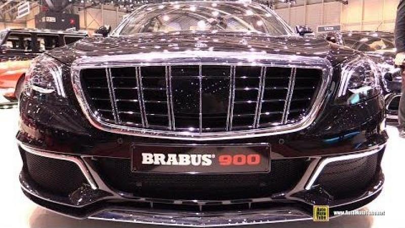 2018 Mercedes Maybach S65 Brabus Rocket 900 Exterior and Interior Walkaround