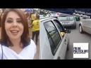 Jornalista Elisa Robson acompanha 'mega carreata' pró Bolsonaro ao vivo em Brasília