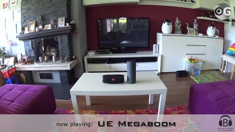 [clavinetjunkie] JBL Charge 3 vs UE Megaboom - indoor soundcheck