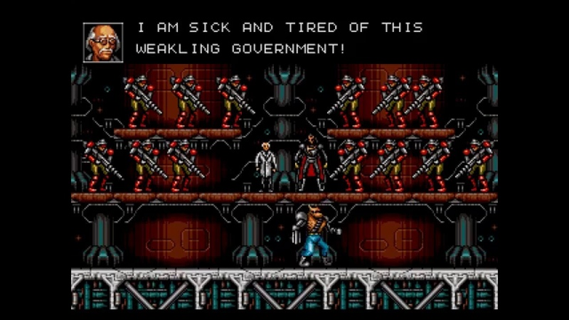[HD] Contra - Hard Corps FULL STORY hack (Sega Genesis)