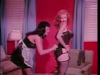 Бетти Пейдж и Темпест Сторм, Teaserama 1955г.