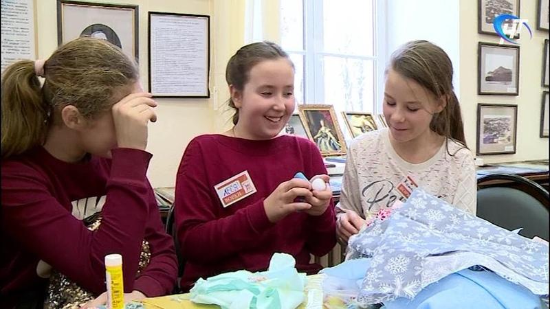Юные новгородцы провели благотворительную акцию Лес рук